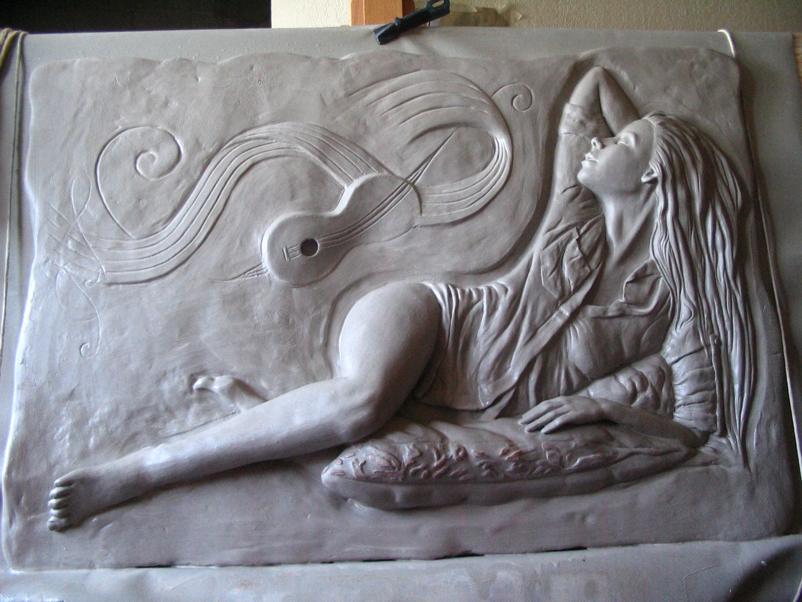 Alto relief moonlight sonata « pistrucci art