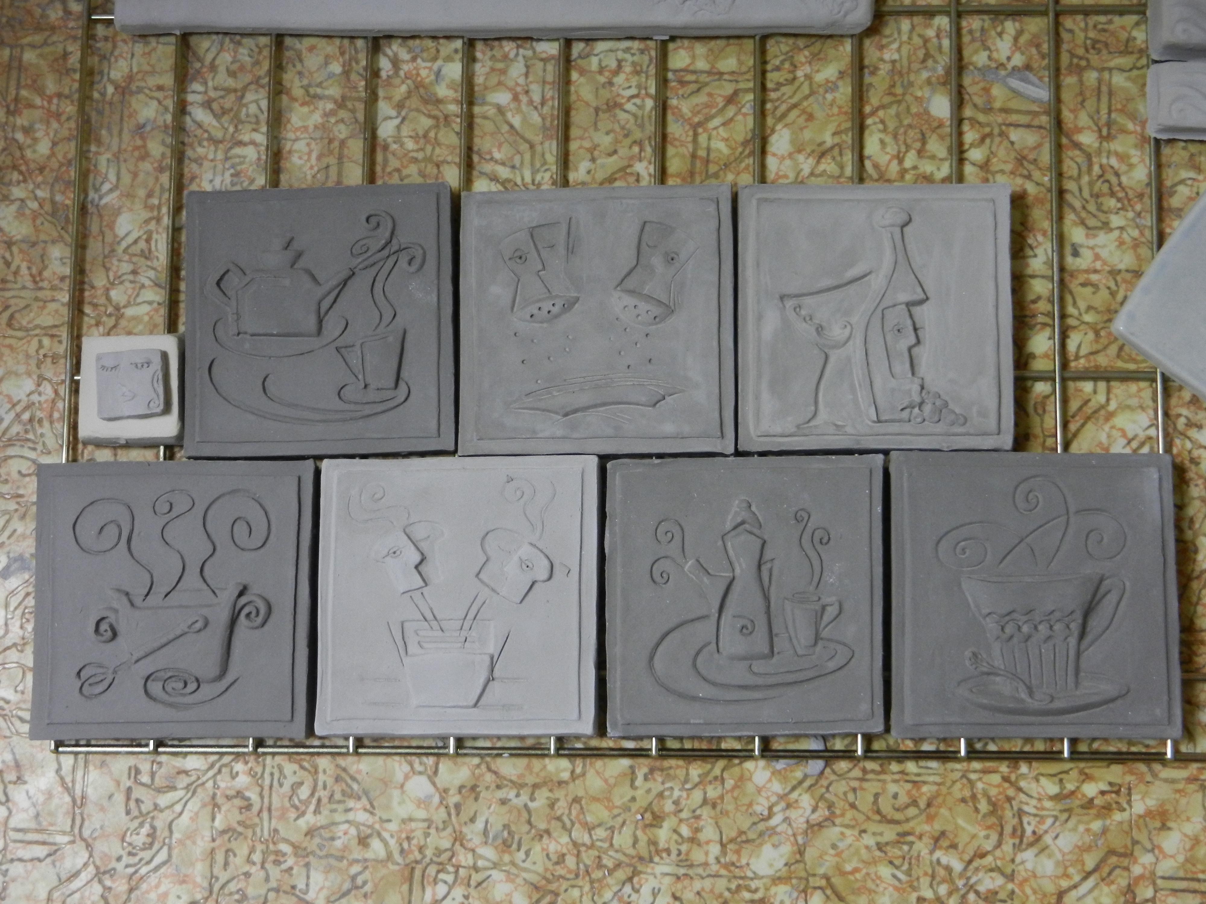 Ceramic Art Tile : Art tile concept to completion « pistrucci