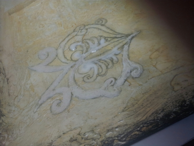 Sculpted relief design