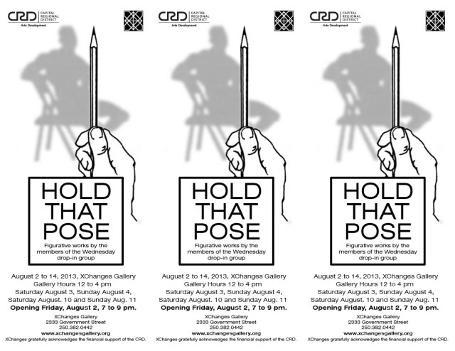 Hold that Pose - Art Exhibition